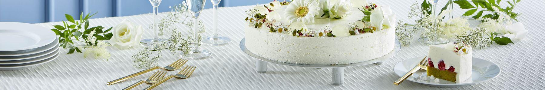 Desserter + Blomster