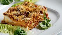 Lasagne med fisk