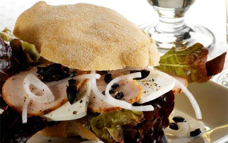 Sandwich med kalkun