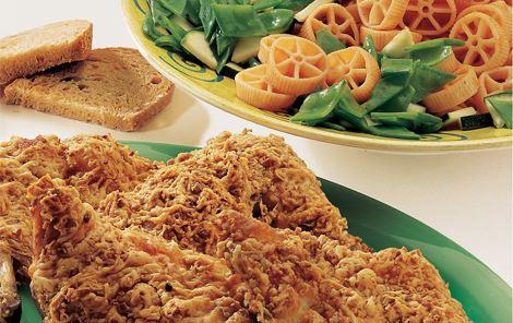 Kylling og pastasalat