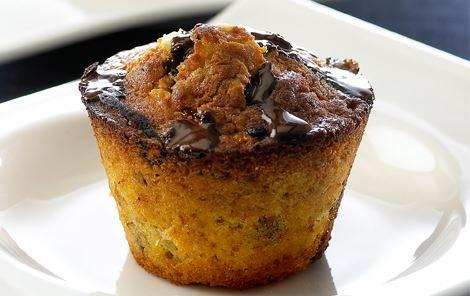 Muffins med nødder og tørrede frugter