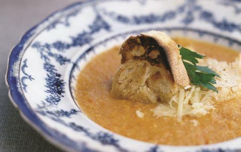 Gylden fiskesuppe