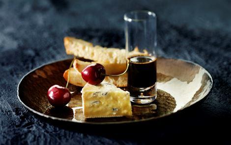 Dark ale sirup til skimmelost