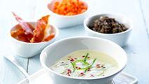 Fyldig aspargessuppe