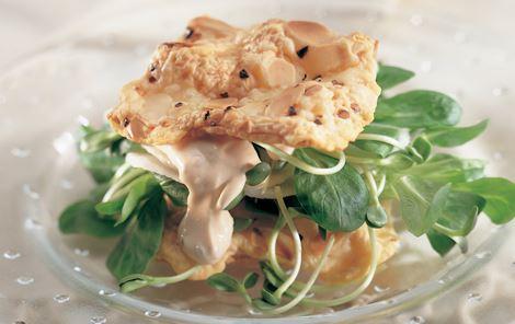 Salatlasagne