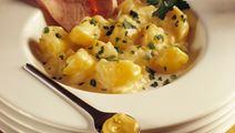 Kartofler i sennepssauce