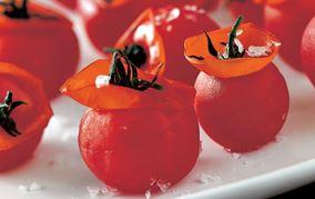Cherrytomater med krave