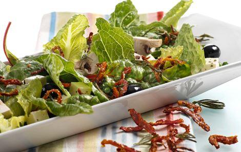 Hurtig + Salater + Champignon