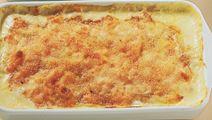 Grøntsager med ostesauce