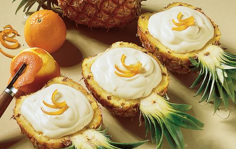 Fyldte ananas
