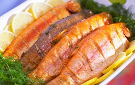Urtefyldte fisk