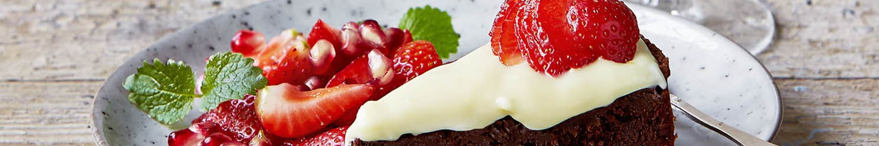 Granatæble + Desserter