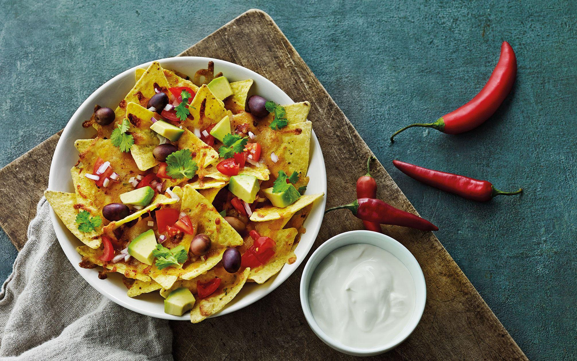 Hotte nachos