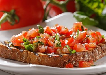 Tomaattibruschetta
