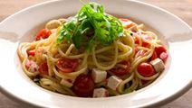 Välimerellinen tomaattipasta