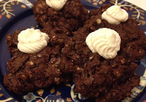 Texan Chocolate Chewies-pikkuleivät