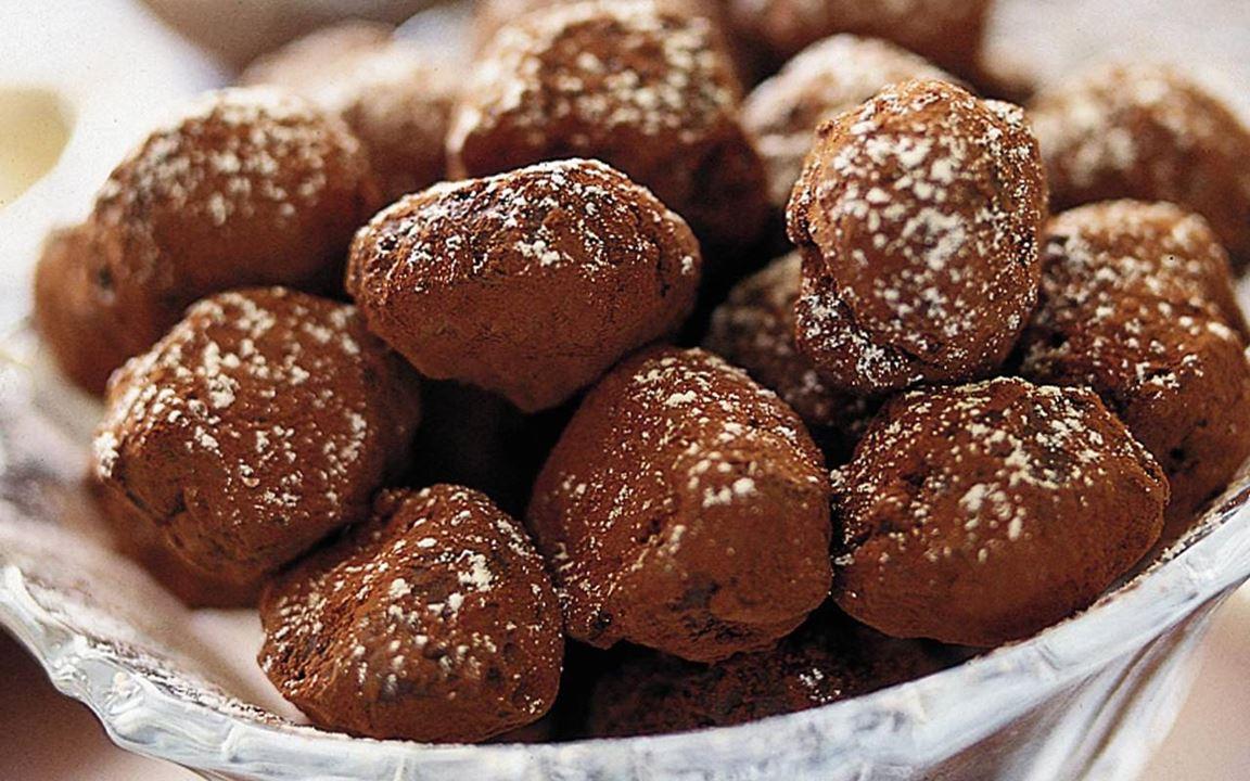 Kardemumma-suklaatryffelit
