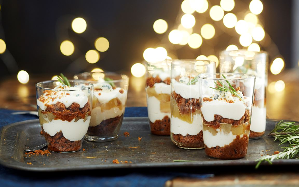 Pikkujoulu Trifle