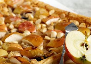 Marsipaani-omenapiirakka