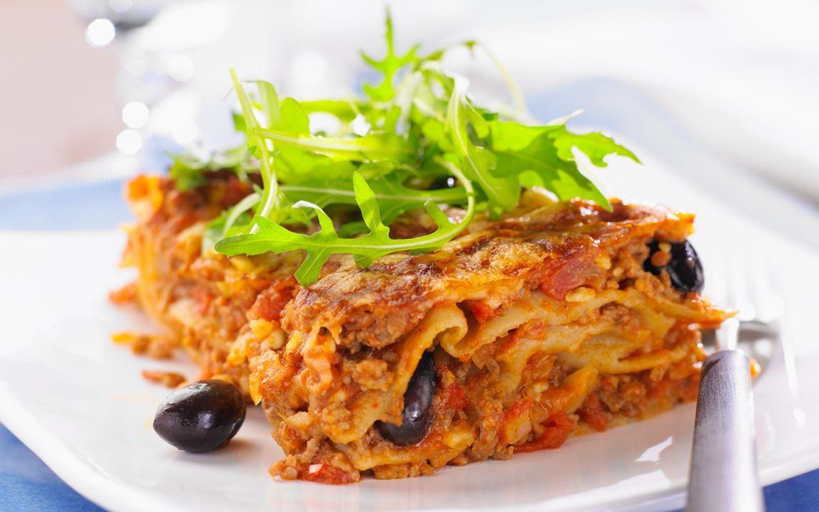 Terveellisempi lasagne