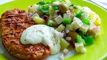 Peruna-juustosalaatti