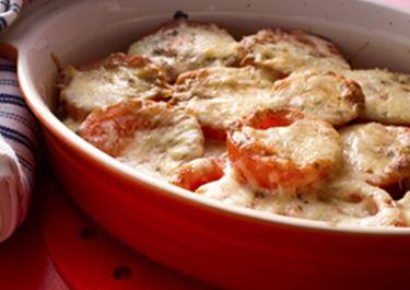Gratinoitu tomaattipaistos