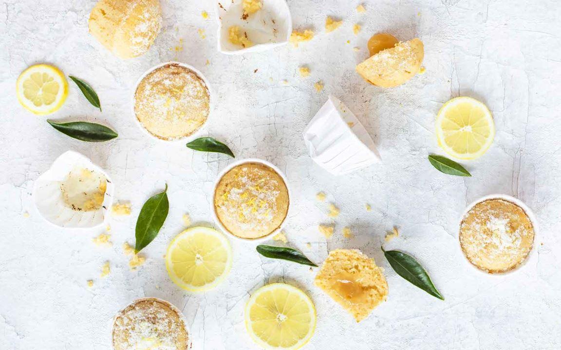 Sitruunamuffinit