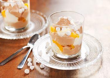 Appelsiini-suklaamarenkijälkiruoka