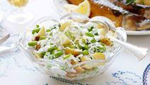 Piparjuuri-perunasalaatti