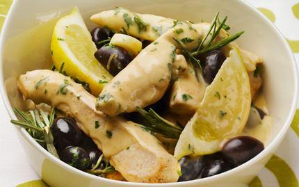 Oliivi-sitruunabroileri