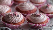 Ystävänpäivän cupcakes