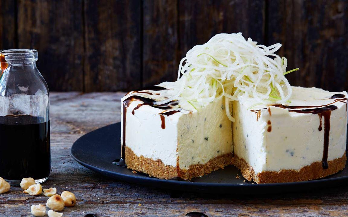 Juhlava juustokakku