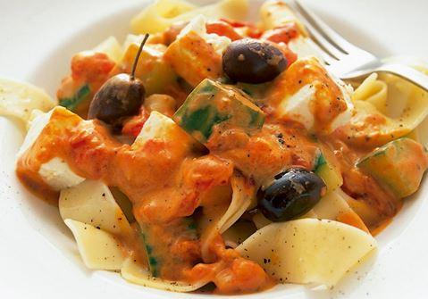 Välimerellinen pasta