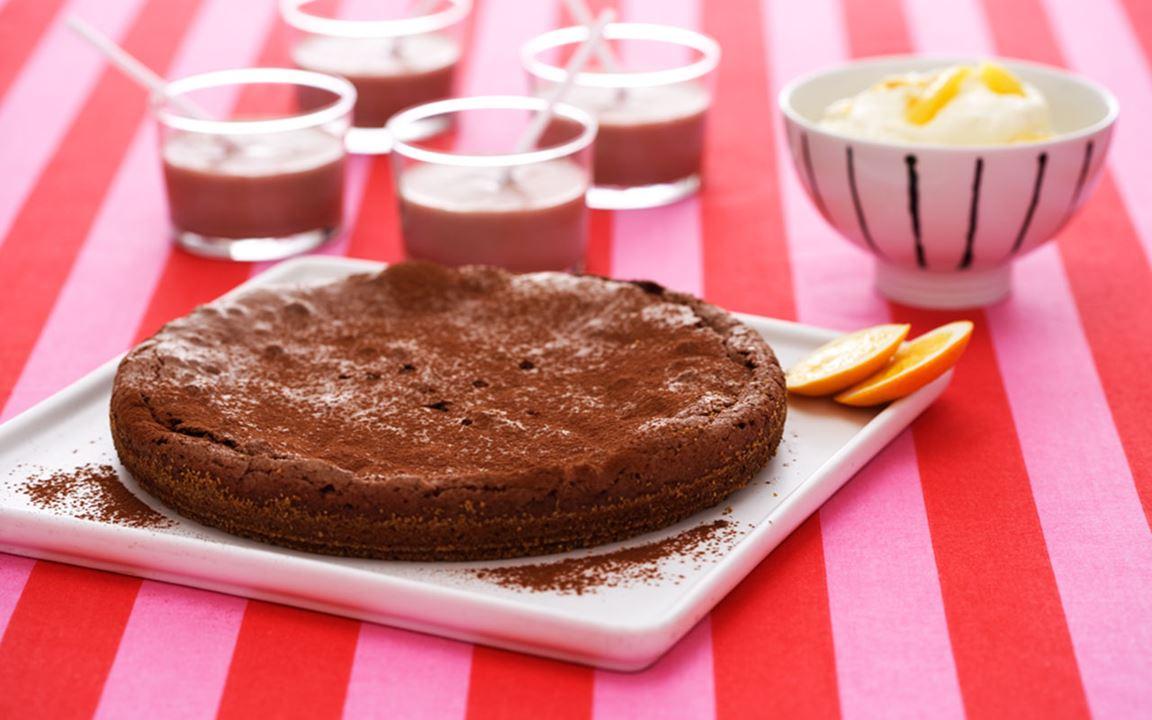 Inkiväärisuklaakakku