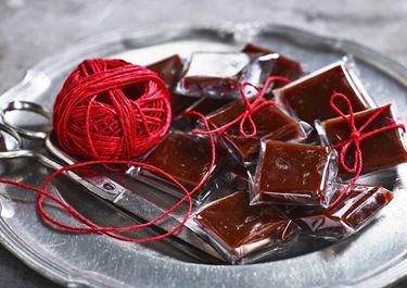 Pehmeät suklaakolakaramellit