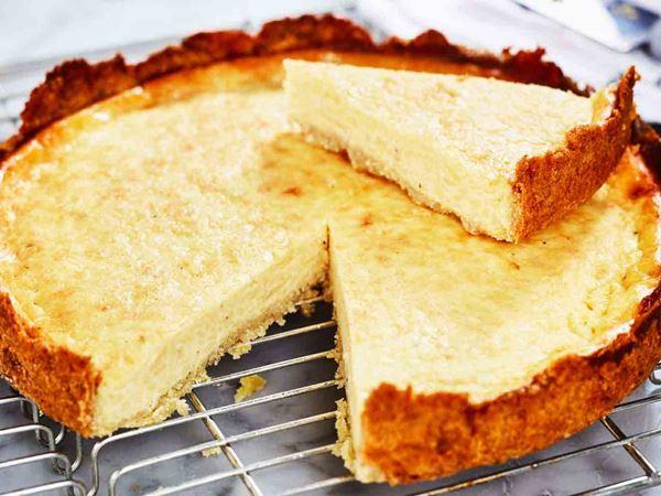 Gluteeniton juustopiirakka