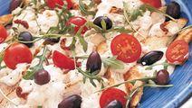 Välimerellinen kanasalaatti