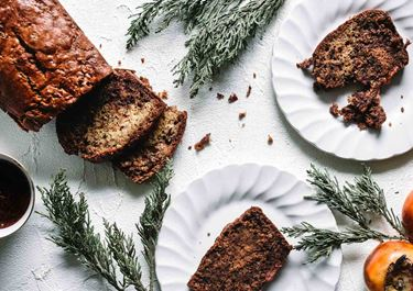 Persimon-leipä