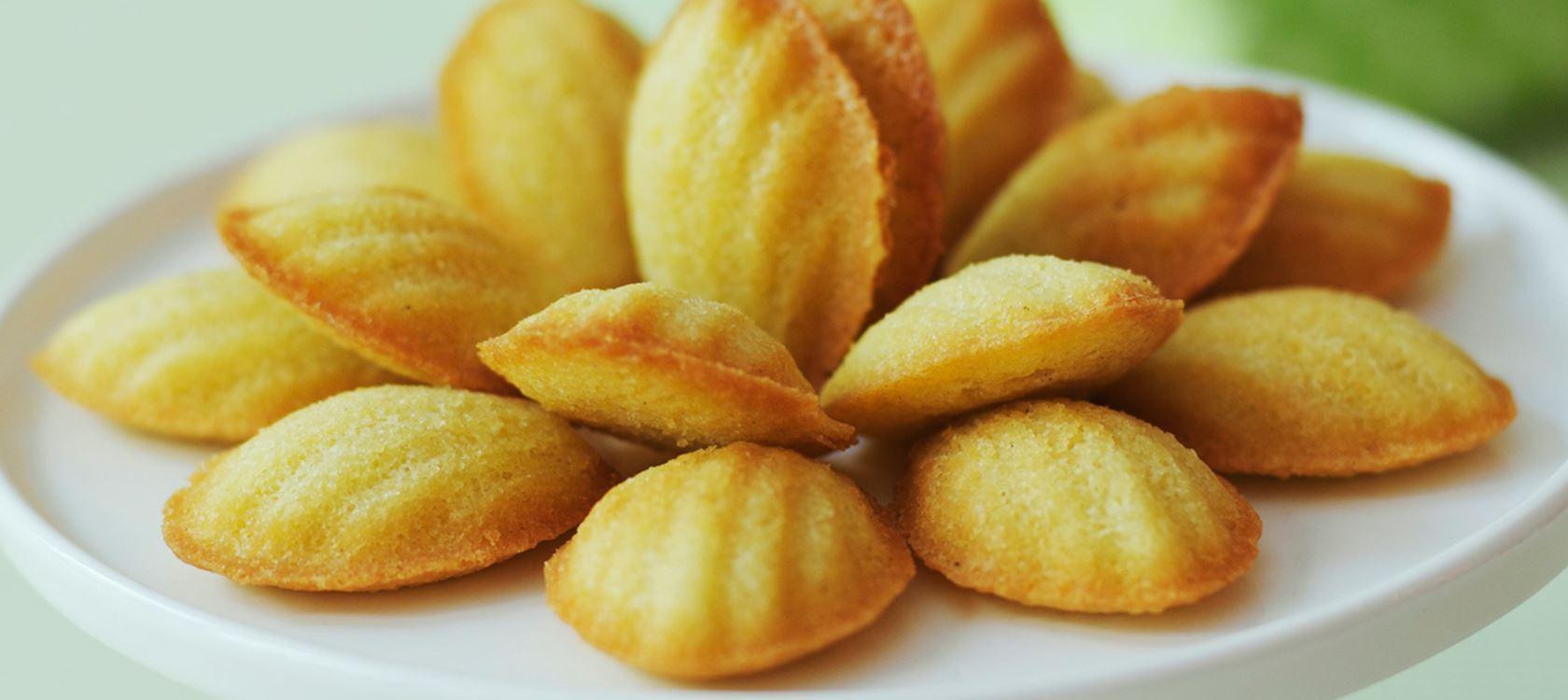Madeleine-leivokset