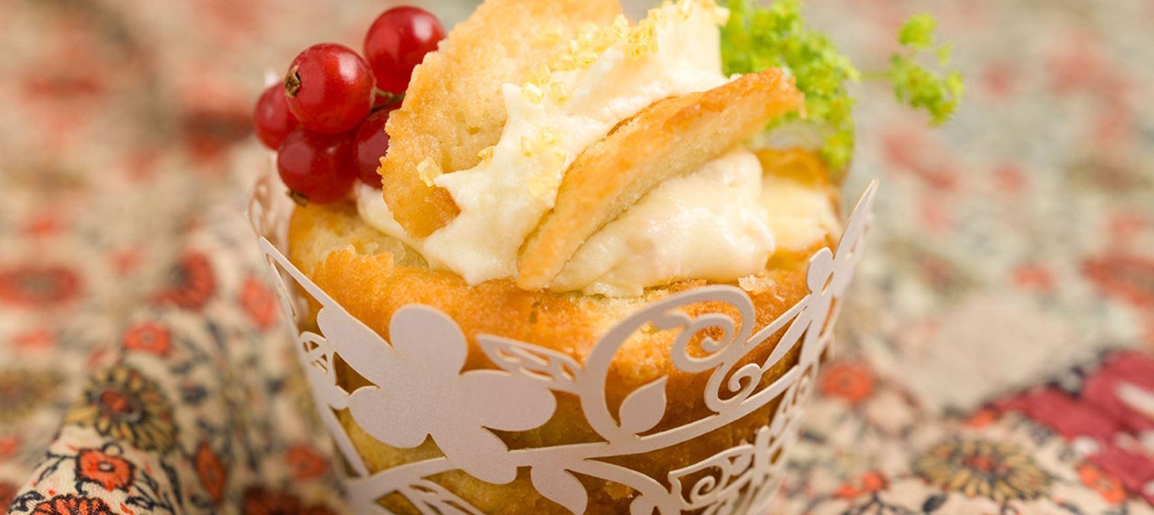 Sitruuna cupcakes