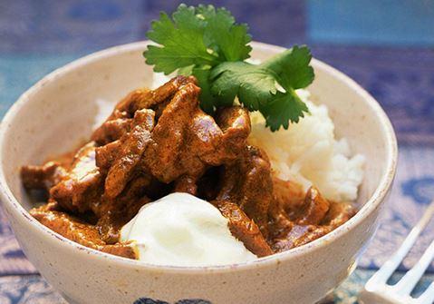 Lihaisa curry