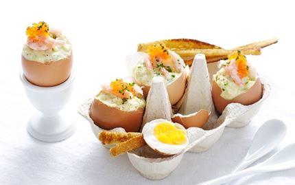 Kermainen munasalaatti