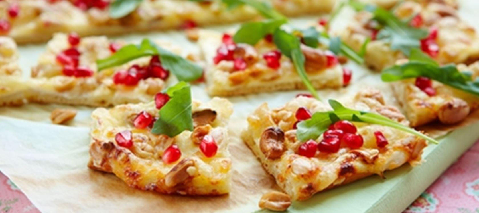 Pähkinä-juustopizza