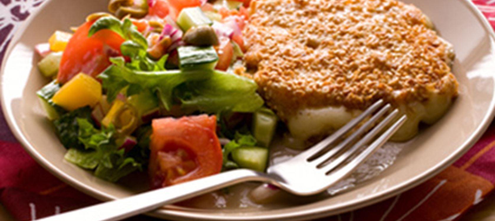 Leivitetyt juustopihvit