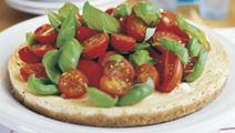 Tomaatti-juustokakku