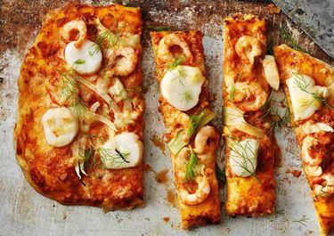 Frutti di mare -pizza