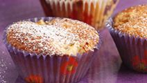 Omenainen cupcake