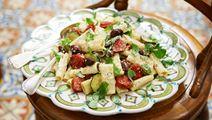 Rigatoni alla salsiccia -pasta