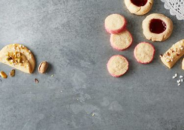 Pikkuleipiä murotaikinasta
