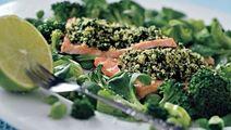 Persiljalohta salaattipedillä